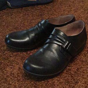 Comfort Plus Black Women's Shoes Slip On Clogs